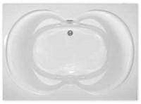 Aquarius RN RIO 6042   60W x 42D x 21H   Five foot acylic soaker tub   Drain Location: center