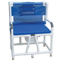 Bath Bench With Bariatric Cushion Seat