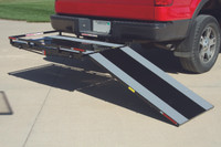 "PVI TrekAwayᆴ HITCH MOUNT CARRIER W/ 4' RAMP, 2.5"" LOW GUARD RAIL - MT3050"