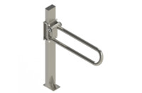 HealthCraft | P.T. Rail Floor Mast | Stainless Steel | 400lb Capacity | PT-WRM-SS (PT-WRM-SS)