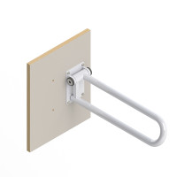 HealthCraft | Wood Wall Plate for PT Rail PT-WP-WD