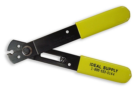 Heavy Duty Wire Stripper with Spring and Lock