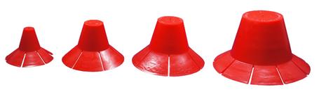 """3"""" Pilgrim Hat Plug (270 per box)"""