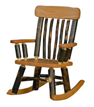 Child's Rustic Rocker - All Hickory