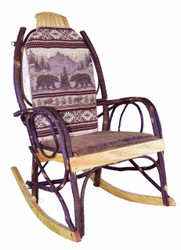 Amish Bentwood Rocker Cushion Set - Bear Mountain Fabric