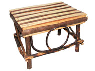 Amish Bentwood Foot Stool - All Hickory