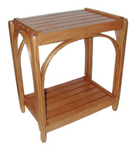 Amish Bentwood End Table - Solid Oak