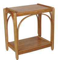 Amish Bentwood End Table - Solid Cherry
