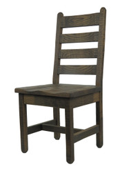 Barnwood Dining Chairs Ladder Back