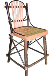 Bentwood Bar Stools Hickory & Oak 24""