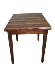 "Barnwood Distressed Oak 42"" High Pub Table with 40X40 Top"