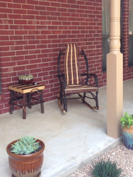 Amish Bentwood Rocker - Hickory, Walnut & Maple - Customer Picture