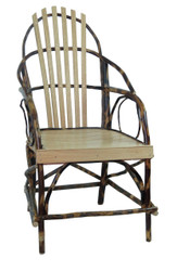 Rustic Hickory & Oak Hoop Chair