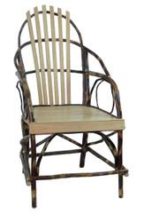 Rustic Hickory & Oak Hoop Chair