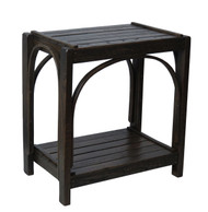 Amish Bentwood End Table - Solid Barnwood
