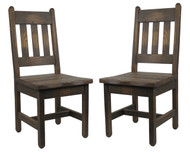2 Barnwood Dining Chairs (SAVE $60 on a set of 2!)