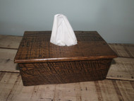 Barnwood Long Tissue Box Cover