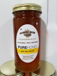 Pure Raw Honey, 8 oz. Jar