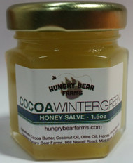 Cocoa Wintergreen Honey Salve