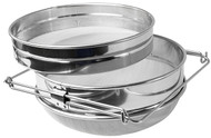 Double Sieve, Stainless Steel