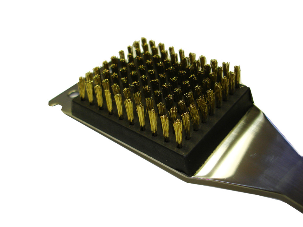 Brass Bristle Grill Brush Head