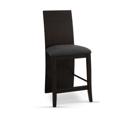 Prolo Counter Height Chair: Charcoal