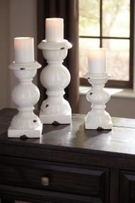 Devorah - Antique White - Candle Holder Set (3/CN)