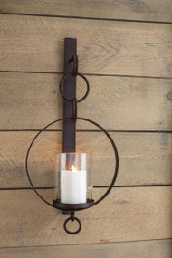 Ogaleesha Brown Wall Sconce