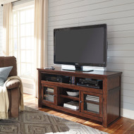 Harpan - Reddish Brown - Large TV Stand