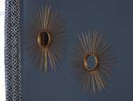 Doniel Antique Gold Finish Accent Mirror Set (2/CN)