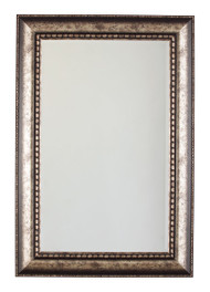 Dulal Antique Silver Finish Accent Mirror
