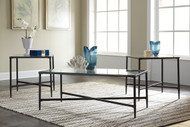 Augeron Black Occasional Table Set (3/CN)