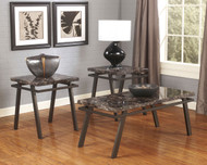 Paintsville Bronze Finish Occasional Table Set (3/CN)
