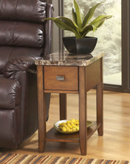 Breegin - Brown - Chair Side End Table