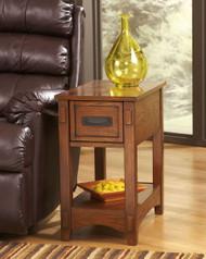 Breegin Brown Chair Side End Table
