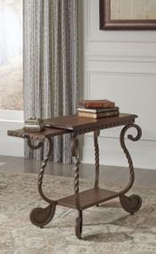 Rafferty - Dark Brown - Chair Side End Table