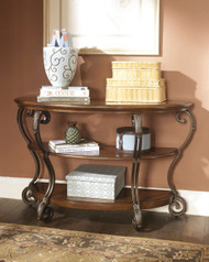 Nestor - Medium Brown - Sofa Table