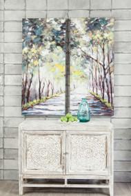 Donagh Green Wall Art Set (2/CN)