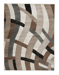 Jacinth Brown Large Rug