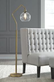 Marilee Antique Brass Finish Metal Floor Lamp (1/CN)