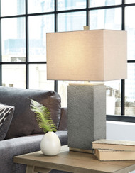 Amergin Grain Poly Table Lamp (2/CN)