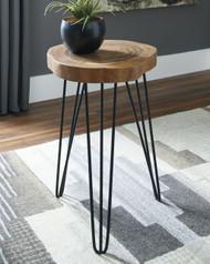 Eversboro Brown/Black Accent Table