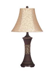 Mariana Bronze Finish Poly Table Lamp (2/CN)