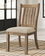 Grindleburg Light Brown Dining UPH Side Chair