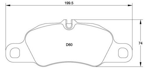 Race Technologies RE10 Brake Pad - 2403.17.RS45