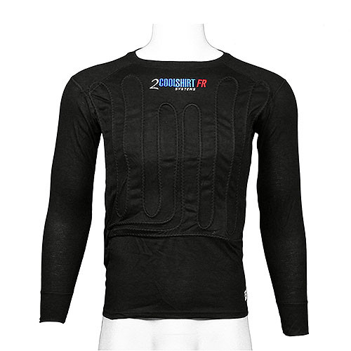 2Cool Water Shirt FR Long Sleeve (Black) SFI 3.3