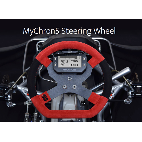 AiM MyChron5 Kart Racing Steering Wheel