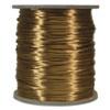 Satin Cord (Rat Tail), Camel, 3mm, 12 yard length, (12 yards cut)
