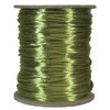 Satin Cord (Rat Tail), Avocado, 3mm, 12 yard length, (12 yards cut)