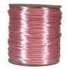 Satin Cord (Rat Tail), Light Pink, 3mm, 12 yard length, (12 yards cut)
